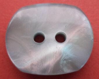 10 light blue buttons blue 18mm (6142)