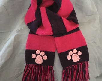 Cheshire Cat Inspired Scarf - Ready to Ship