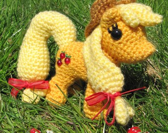 Chibi Applejack Pattern - My Little Pony