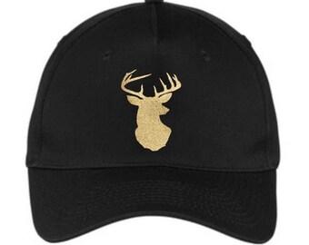 Baseball Hats, Deer Hat, Deer Cap, Glitter Deer Hat, Girls Hat, Girls Cap, Baseball Cap, Bling, Glitter, Hats, Caps, Deer, Gift Ideas
