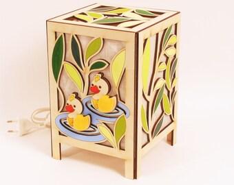 Duck, Lamp, Night Light, Nursery Lamp, Gift, Room decoration,