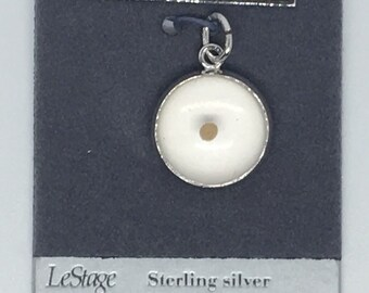 LeStage New Old Stock Mustard Seed Charm Sterling