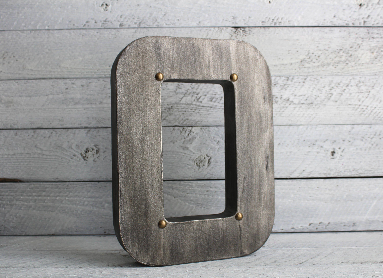 Wood And Metal Letters Metal Letters Metal Signs Custom Metal Signs Rustic