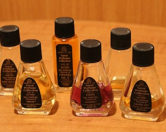 Carter & Van Peel Fragrances ~ Perfume ~ Great Perfumes Collection ~ Publicity Versions of Classic Fragrances ~ Collectible