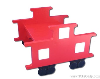 Train Caboose Step Stool
