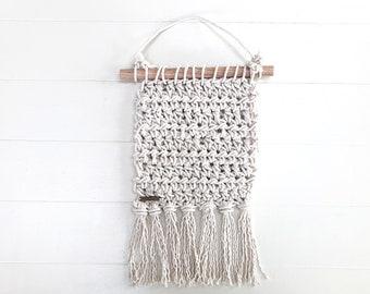 Crochet wall hanging • wall art • wall décor
