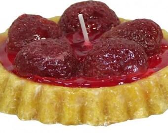 Candle Fruit Tart Strawberry