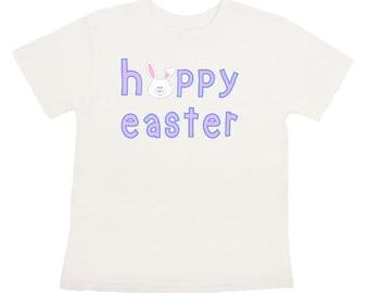 Happy Easter Iron On transfer Personalized shirt DIY Digital Hoppy Easter printable shirt
