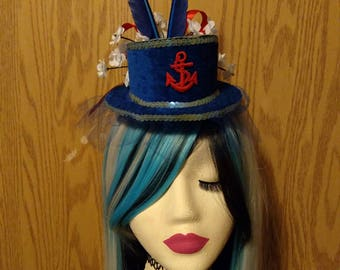 Anchors Aweigh Mini Top Hat