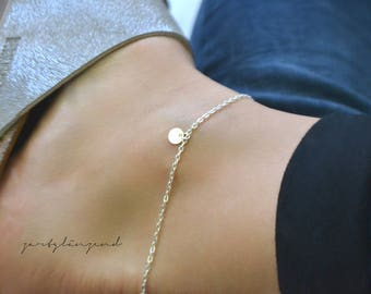 """925 sterling silver anklet """"XS"""""""