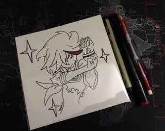 Original Ryuko Matoi Drawing