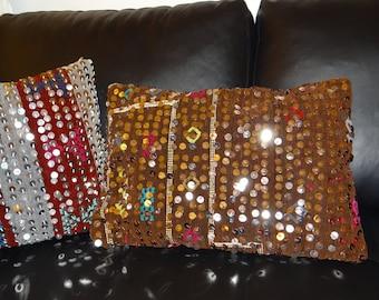 Berber cushion. Pillow oriental - sequin - great offers!