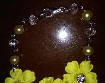 Yellow flowers Bracelet