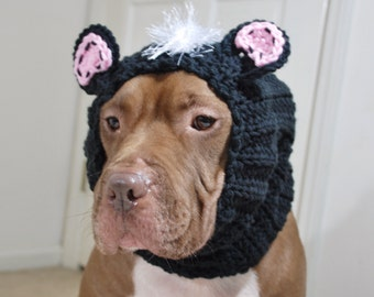 Skunk Dog Snood MADE TO ORDER Small Medium Large Extra Large