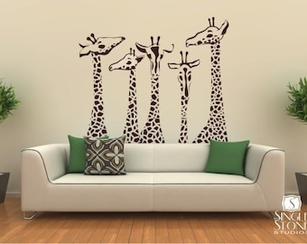 Great More Colors. Nursery Giraffe Wall Decals ...