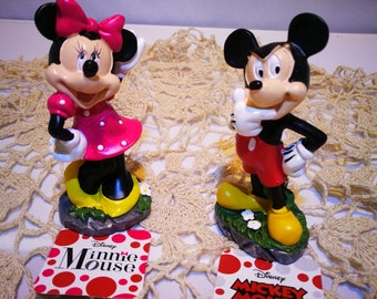 Minnie Mouse and Mickey Mouse from Disney World.Free Domestic Shipping