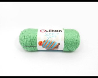 Caron Simply Soft Yarn, Sage, 6oz