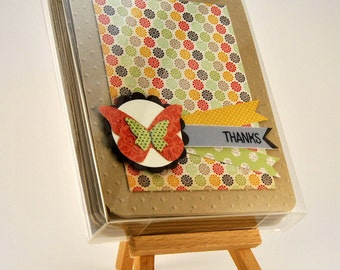 Butterfly Thank You Greeting Card Set