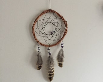 Native Crystal Small Dreamcatcher