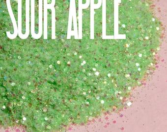 Sour Apple Chunky Mix|| 2oz ||