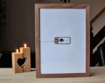 A4 Walnut certificate frame - A4 Wooden diploma frames