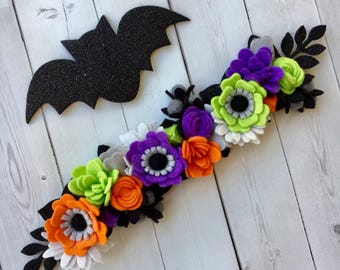 Halloween Flower Crown
