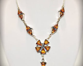 Stunning Unique Amber Necklace