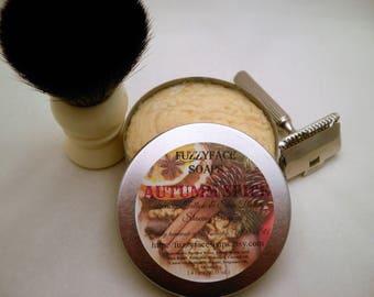 AUTUMN SPICE Tallow & Shea Butter Shaving Soap Limited Edition Seasonal