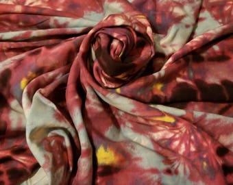 100% Rayon tye dye yarndyed woven natural fiber bty