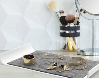 Jewelry Tray, iPad Mini Tray, iPhone Tray,Key Tray, Organizer Desk Tray, Modern And Minimalist