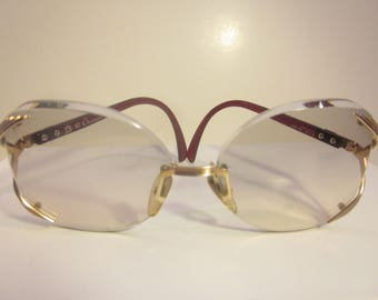 Vintage Rounded Oversize Christian Dior Accessory Sunglasses