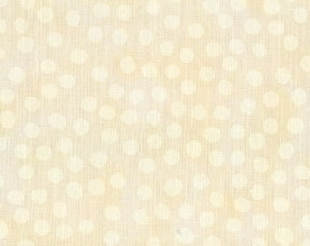 MARBLE DOTS Natural  Moda 1 yard cotton quilt fabric 3405-30