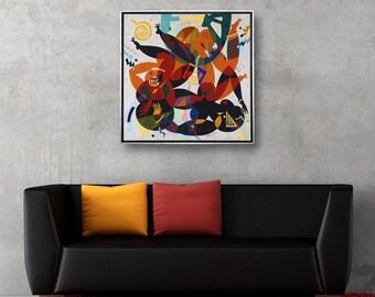 Acrylic Painting Art Painting Modern Art Original Painting Canvas Art Abstract Painting Abstract Wall Art Modern Art  Erotic Art