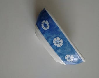 Villeroy & Boch  Blue and White Oblong Mini  Dish, Blue and White Jewelry Dish made in Germany, Premium Porcelain Ring Dish