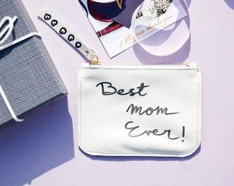 Mother's day gift, White Coin purse, credit card holder, credit card wallet, wallets, credit card pouch, metro card holder, Mother's day