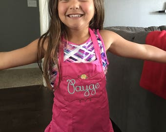 Custom Personalized Children's Apron