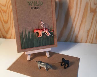 Have a Wild Birthday! - Handmade Birthday Card