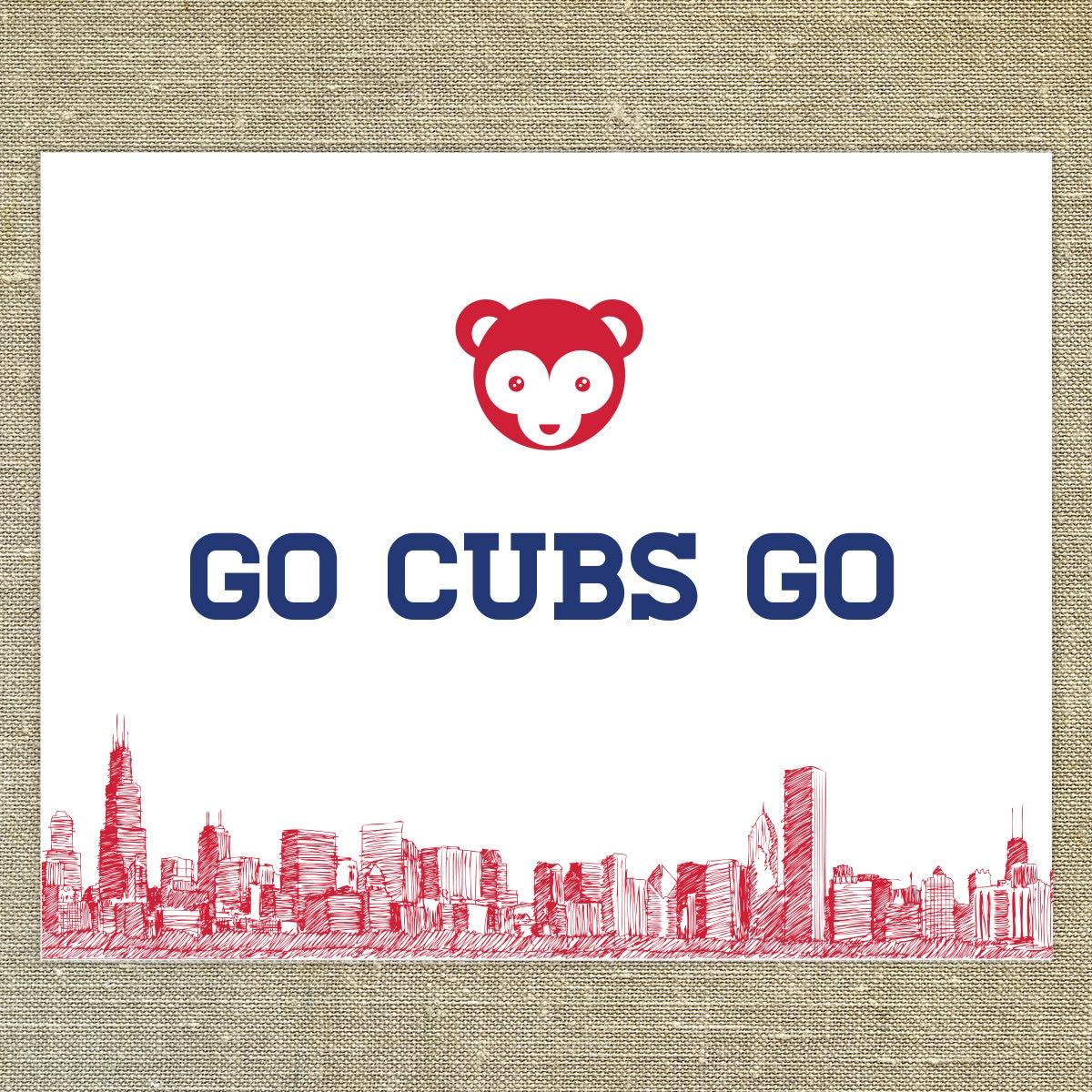 go cubs go sheet music
