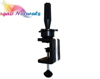 Mannequin / Canvas Head Holder. C Clamp. Universal Wig Block Stand