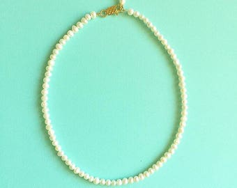 Not Your Mother's Pearls Choker