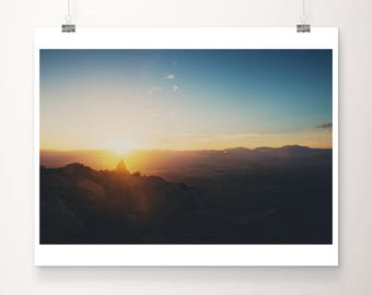 Mt Woodson photograph mountains photograph sunrise photograph California photograph Mt Woodson print mountains print San Diego print
