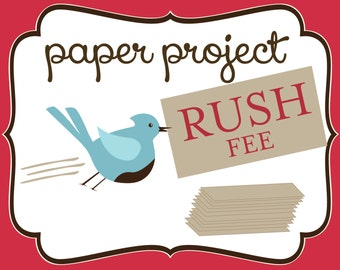 RUSH My Paper Project