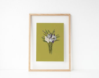 Wildflower Bouquet | Wall Decor