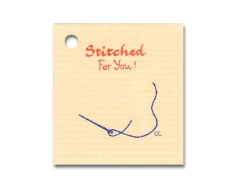 STITCHED FOR YOU~ Hang Tags, Price Tags & Strings Included - Size: Small, Vendors Welcome
