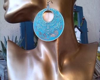 Large Gypsy Bohemian Gypsy earrings
