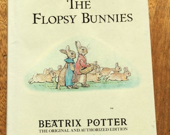 Beatrix Potter Book -The Tale of the Flopsy Bunnies