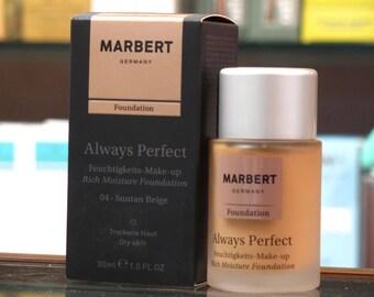 Marbert always Perfect Foundation 04-Suntan Beige Foundation 30ml