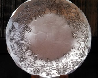 Open Tree of Life Candle Plate