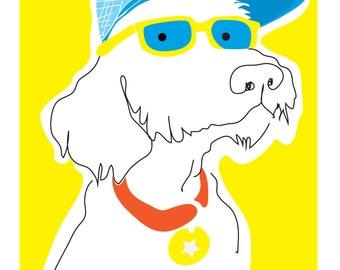 Doggy Dude Print