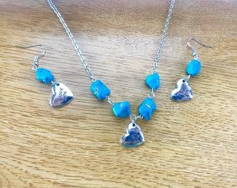 I Love You  Jewelry Set